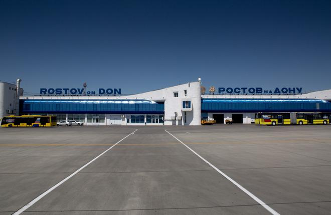 Терминал в аэропорту Ростова-на-Дону