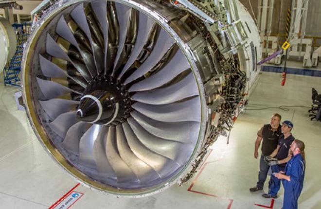 Rolls-Royce запустили двигатель Trent XWB для A350-1000