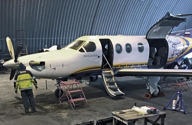 """RUAG Aviation отремонтировала три самолета красноярской """"АэроГео"""""""