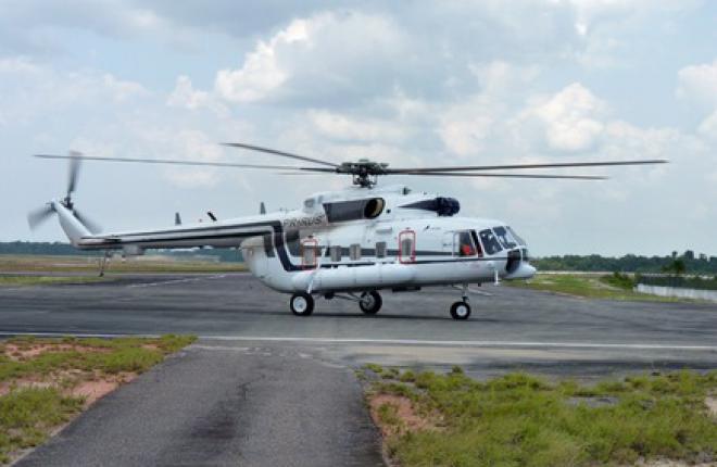 Еще один вертолет Ми-171А1 отправится в Бразилию