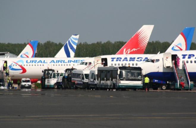 Пассажиропоток российских авиакомпаний за 8 месяцев 2012 г. увеличился на 13,9%