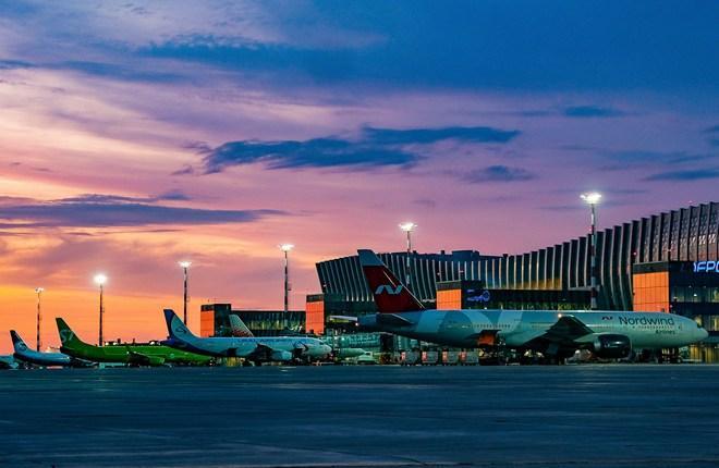 российские авиакомпании в аэропорту Симферополь
