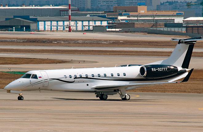 Новый Embraer Legacy 650 будет базироваться в московском аэропорту Шереметьево