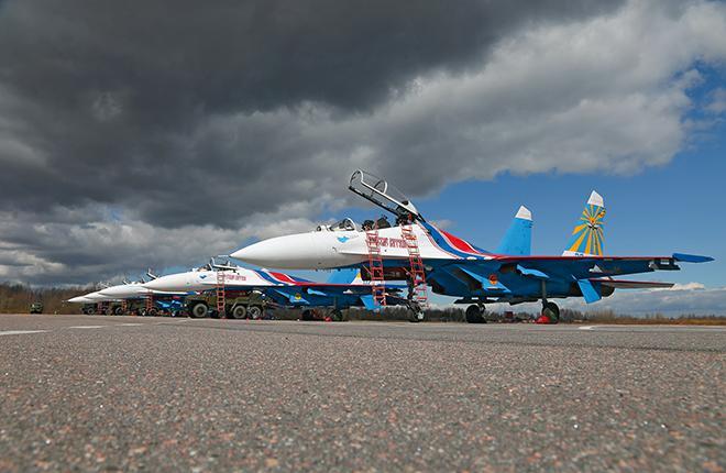 «Русские витязи» пересядут на Су-30СМ