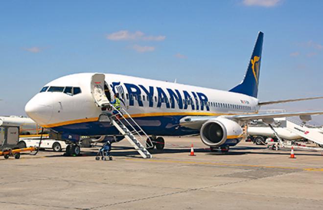 В текущем бюджетном году Ryanair планирует перевезти 103 млн пасс.