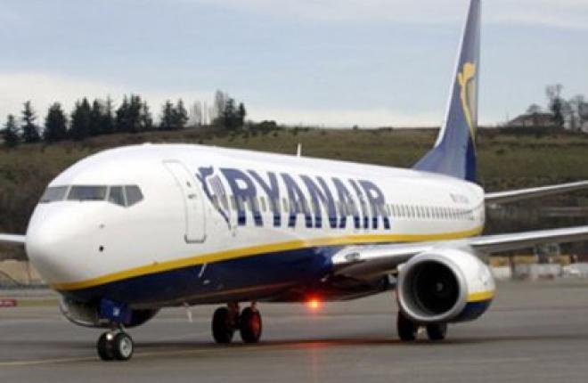 Прибыль авиакомпании Ryanair по итогам 2012/2013 финансового года возросла на 13