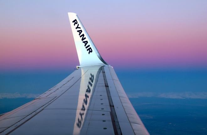 законцовка самолета лоукостера Ryanair