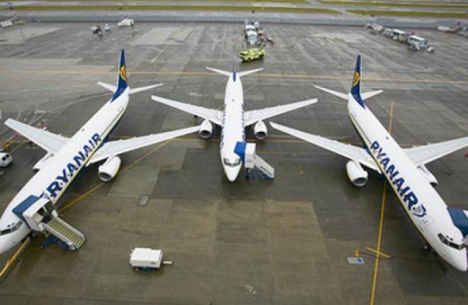 Ryanair наладит авиасообщение Львова с Лондоном, Барселоной и Парижем
