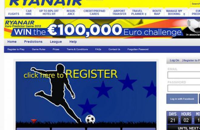 Сайт авиакомпании Ryanair не будет работать более суток