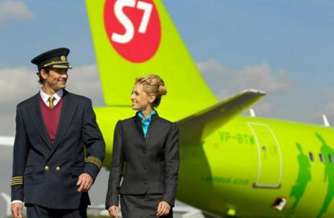 Авиакомпания S7 Airlines увеличивает частоту полетов между Москвой и Новосибирск