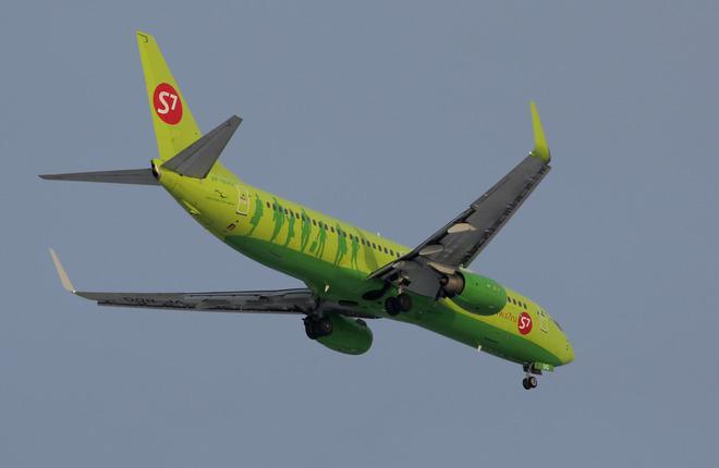 Авиакомпания S7 Airlines расширит парк на шесть Boeing 737-800