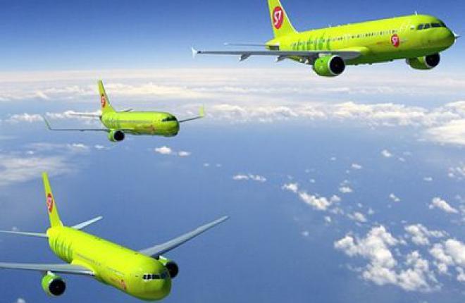 Перевозки S7 Airlines в январе росли быстрее других