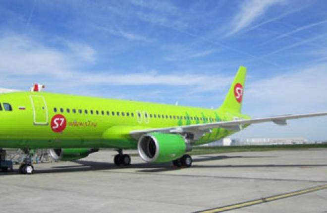Авиакомпания S7 Airlines получила 42-ой самолет семейства Airbus А320