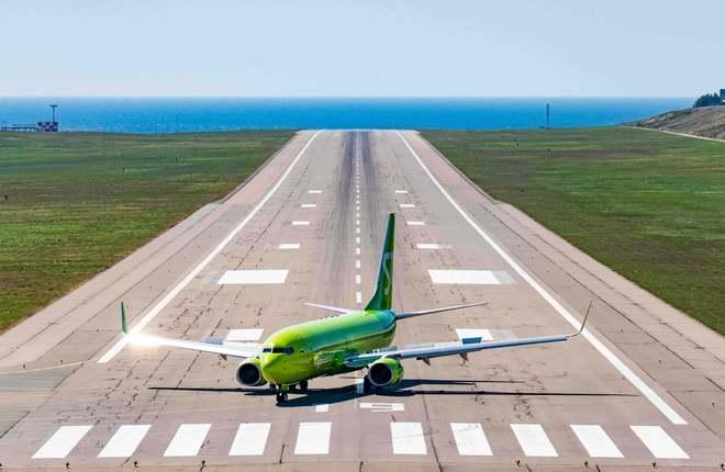 самолет 737 авиакомпании S7 Airlines