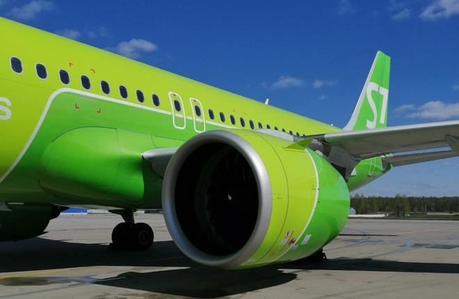 самолет S7 Airlines