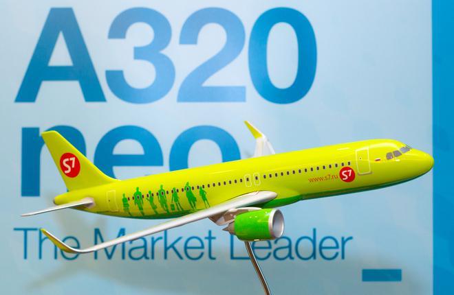S7 Airlines станет первым российским эксплуатантом семейства A320neo
