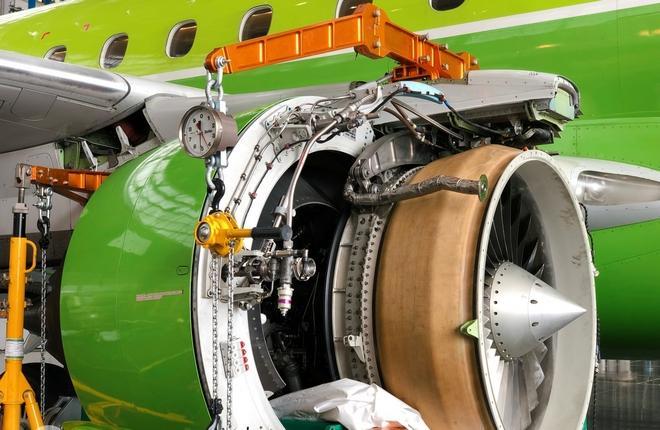 ремонт авиадвигателя S7 Technics