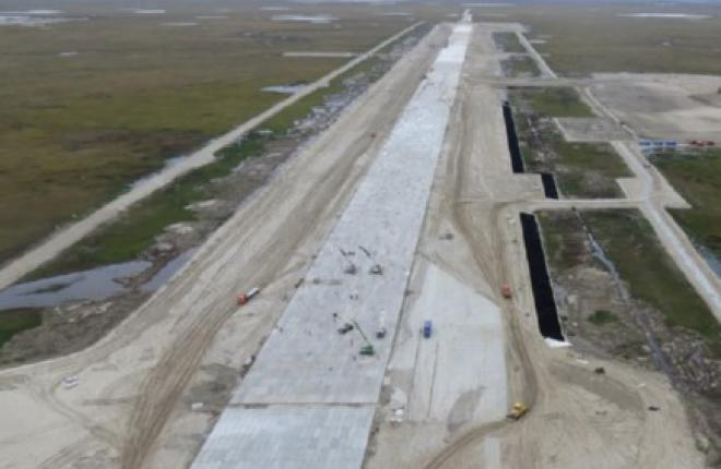 Ямальский аэропорт Сабетта начал принимать самолеты