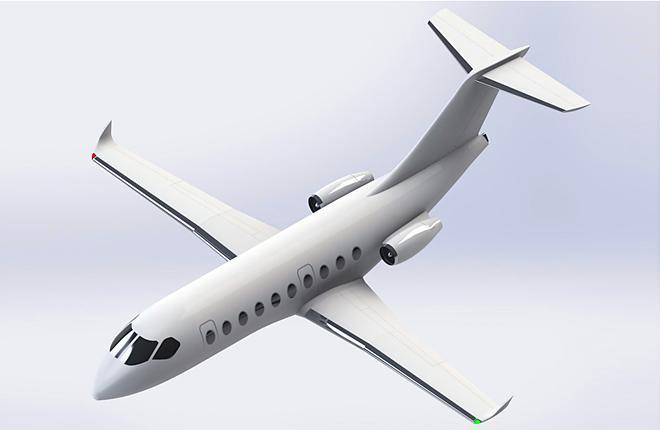 СибНИА разрабатывает скоростной самолет для региональной авиации