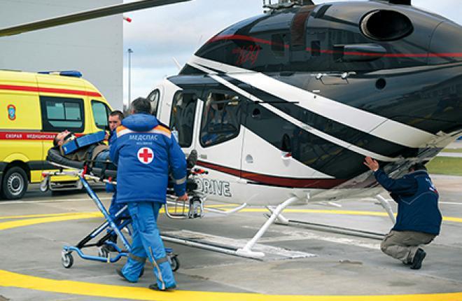 Пока в проекте задействованы два Bell-429EMS