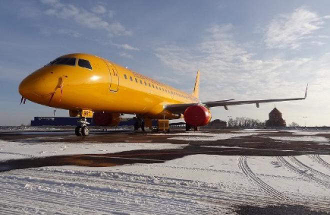 """Авиакомпания """"Саратовские авиалинии"""" расширяет географию полетов на самолетах Embraer E195"""