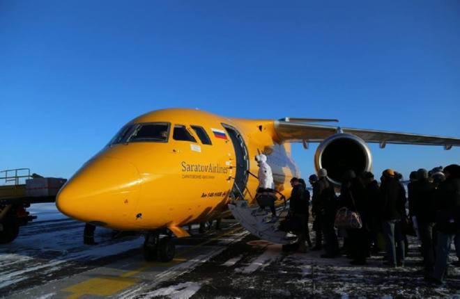 «Саратовские авиалинии» ввели в расписание второй самолет Ан-148