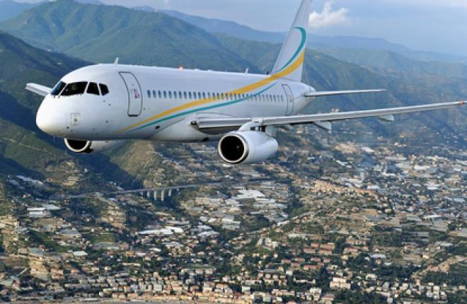 Comlux заказывает Sukhoi Business Jet