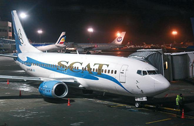 Казахстанская авиакомпания SCAT стремится в Европу, не забывая о республиканских маршрутах
