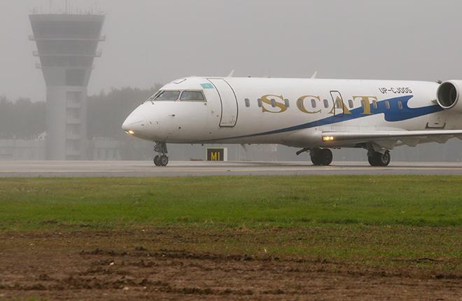 Авиакомпания SCAT перейдет из Домодедово во Внуково