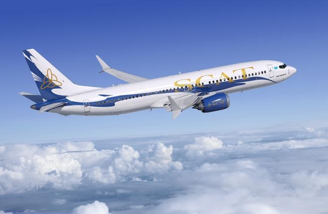 Boeing 737 MAX-8 в ливрее SCAT