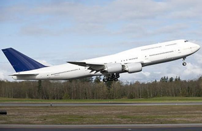 Второй Boeing 747-8 приступил к испытательным полетам