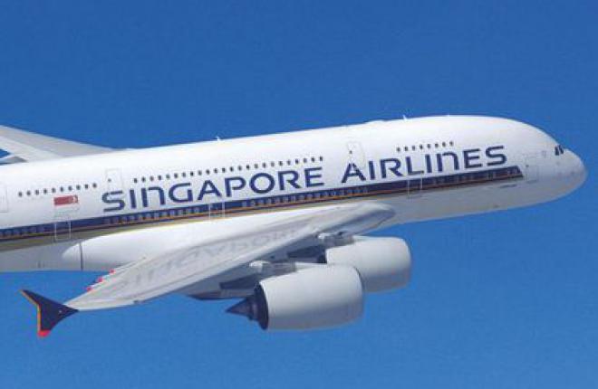 Singapore Airlines перевезла 9 млн пассажиров на самолетах Airbus A380