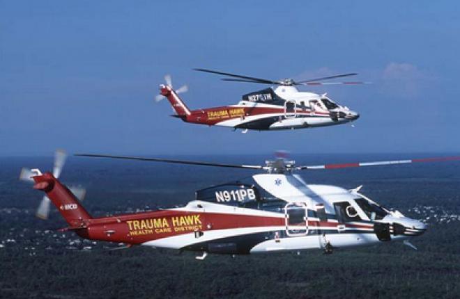 Продажи коммерческих вертолетов растут, военных — сокращаются