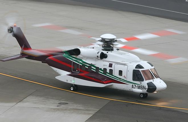 Вертолет Sikorsky S-92