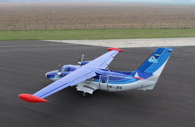 L-410 авиакомпания СиЛА