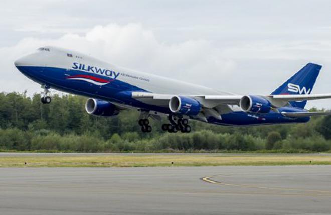 Азербайджанская авиакомпания Silk Way West подтвердила заказ на три Boeing 747-8F