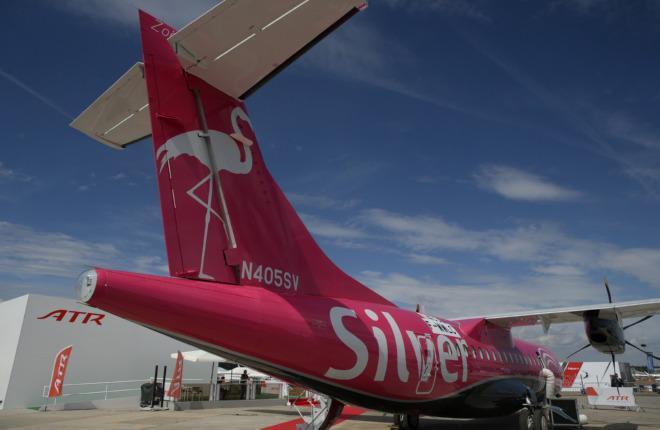 Самолет ATR 42-600 американской авиакомпании Silver Airways