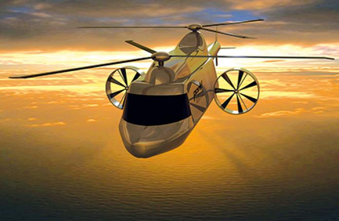 Новые технологии, реализованные в концепт-вертолете Hero, привлекли внимание Sik