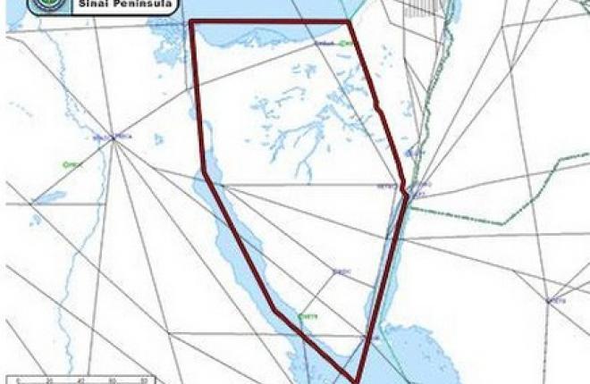 Американским авиакомпаниям рекомендовали не снижать высоту над Синайским полуостровом