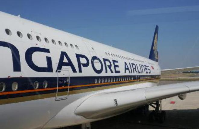 Пассажиропоток авиакомпании Singapore Airlines в июле 2013 г. возрос на 3,7%