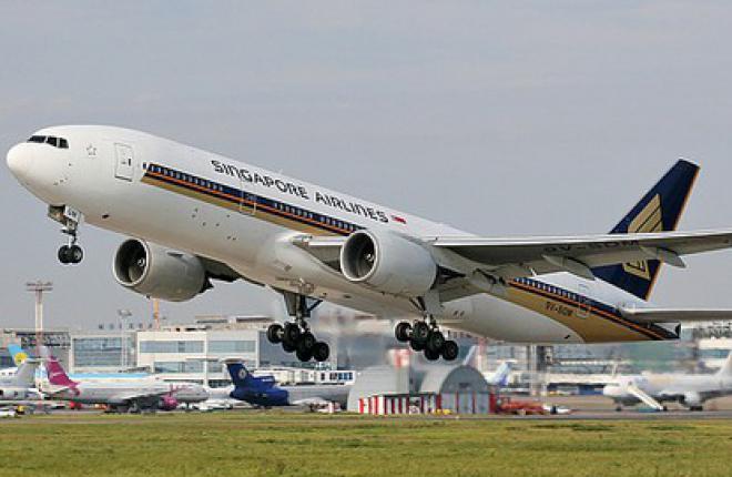 В феврале пассажиропоток авиакомпании Singapore Airlines возрос на 5,1%