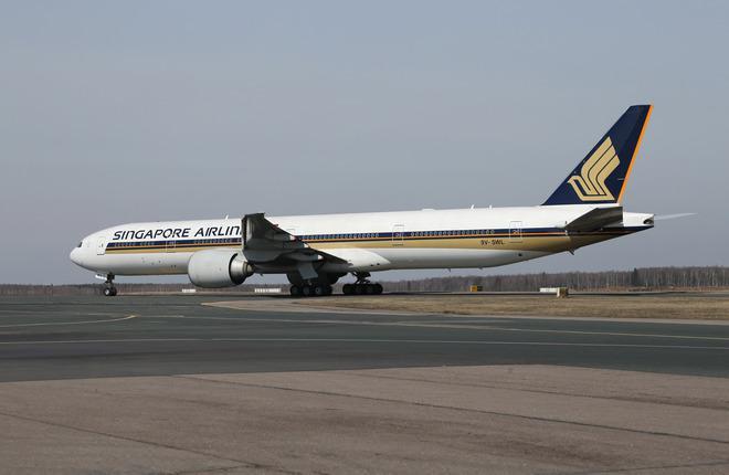 Singapore Airlines прекратит летать через Москву по пятой свободе