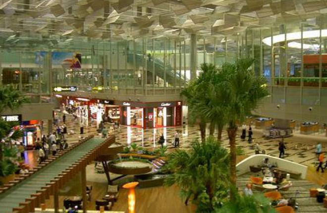 Транзитная зона в Терминале 3 аэропорта Changi