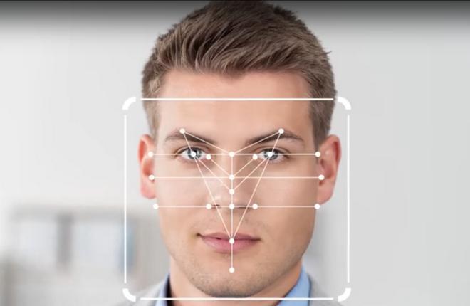 Схема сканирования лица