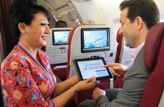 Мобильных устройств на борту самолета становится все больше