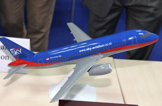 Самолет Sukhoi Superjet 100 (SSJ 100) для авиакомпании Sky Aviation