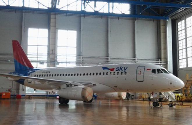 Авиакомпания Sky Aviation получила второй Sukhoi Superjet 100