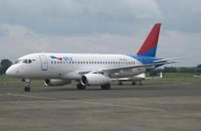 Индонезийская авиакомпания Sky Aviation ввела в эксплуатацию свой первый  SSJ100