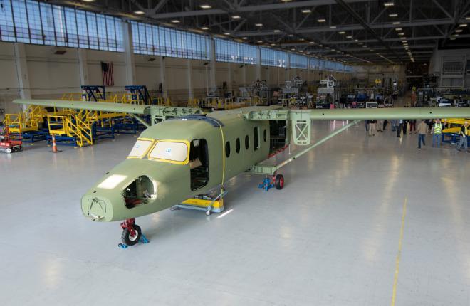 Первый прототип самолета Cessna SkyCourier