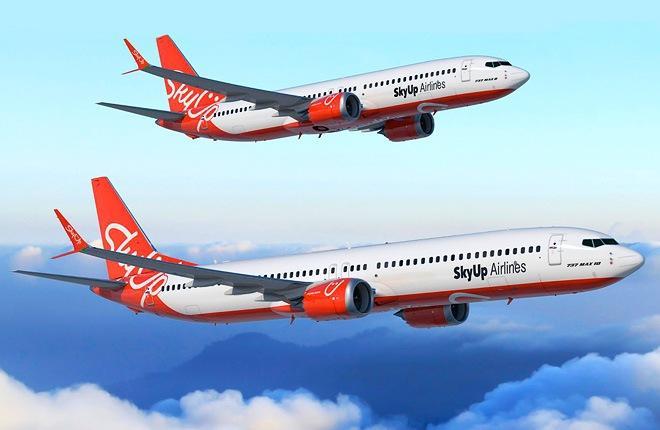 Новый украинский перевозчик SkyUp первым в регионе заказал Boeing 737MAX-10
